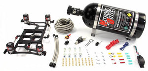 """Race"" 4500 Dual Stage Hornet Plate System With Boomerang Offset Solenoid Bracket(100-700HP)"