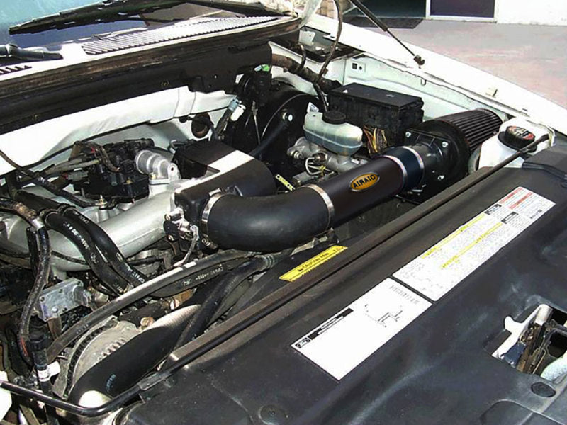 Airaid 97-03 Ford F-150 4.2L V6 CL Intake System w/ Black Tube (Dry / Black Media)