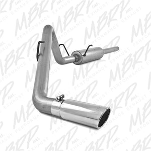 MBRP 2004-2005 Dodge Ram Hemi 1500 5.7L SC/CC-SB Cat Back Single Side