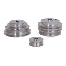 Load image into Gallery viewer, BBK 85-97 GM Truck 305 350 Underdrive Pulley Kit - Lightweight CNC Billet Aluminum (3pc)