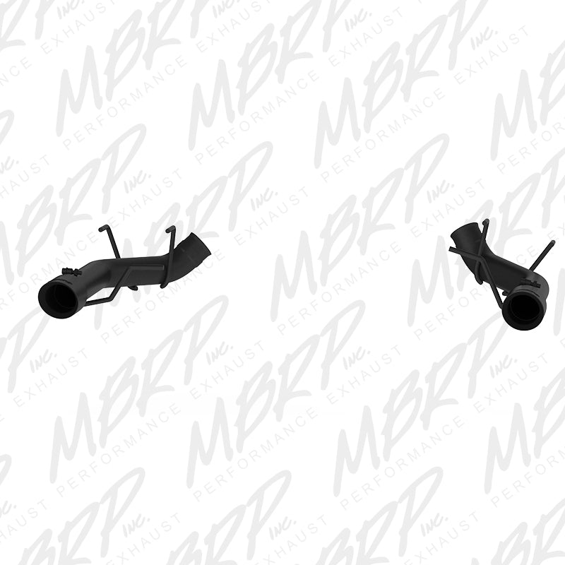 MBRP 2011-2014 Ford Mustang GT 3in Dual Axle Back Muffler Delete - Black