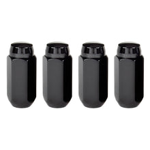 Load image into Gallery viewer, McGard Hex Lug Nut (Cone Seat) M14X1.5 / 22mm Hex / 1.945in. Length (4-Pack) - Black