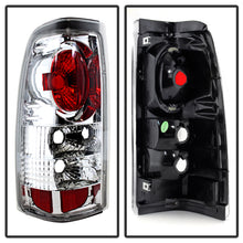 Load image into Gallery viewer, Spyder Chevy Silverado 1500/2500 99-02 (Not Stepside) Euro Style Tail Lights Chrm ALT-YD-CS99-C