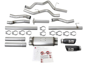 aFe MACHForce XP 3in 409-SS Exhaust Cat-Back 2017 Ford F-150 Raptor V6-3.5L (tt) w/ Black Tip