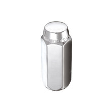 Load image into Gallery viewer, McGard Hex Lug Nut (Cone Seat) M12X1.75 / 13/16 Hex / 1.815in. Length (4-Pack) - Chrome