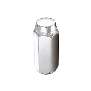McGard Hex Lug Nut (Cone Seat) M12X1.75 / 13/16 Hex / 1.815in. Length (4-Pack) - Chrome