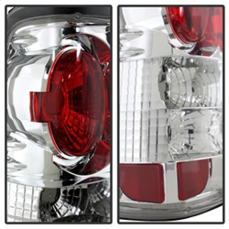 Spyder Chevy Silverado 1500/2500 99-02 (Not Stepside) Euro Style Tail Lights Chrm ALT-YD-CS99-C