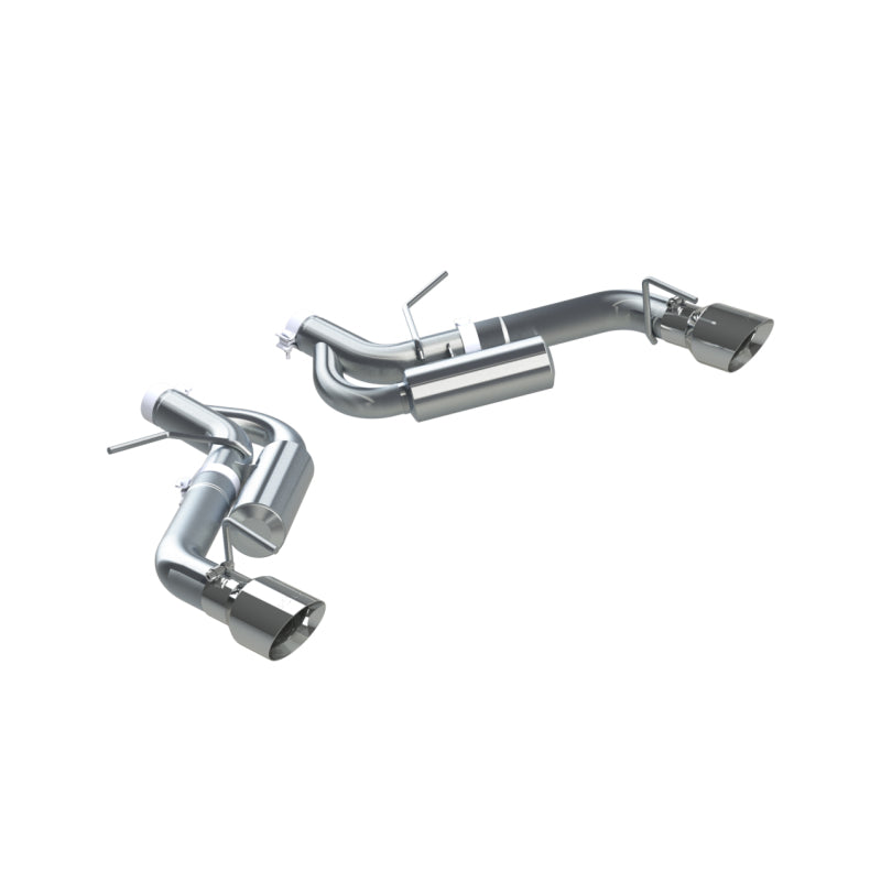 MBRP 16-19 Chevrolet Camaro SS Dual Rear Exit Axle Back w/ 4.5in OD Tips - T409 (Non NPP Models)