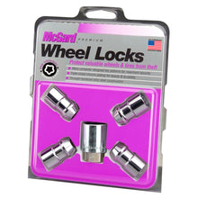 Load image into Gallery viewer, McGard Wheel Lock Nut Set - 4pk. (Cone Seat) 1/2-20 RH-LH / 13/16 Hex / 1.46in. Length - Chrome