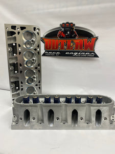 CNC Ported  LS 243 Cathedral Port Cylinder Heads