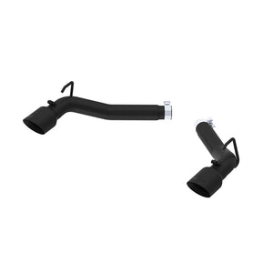 MBRP 2010-2015 Chevrolet Camaro V6 3.6L 3in Black Coated Axle Back Muffler Delete