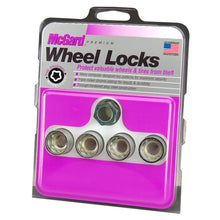 Load image into Gallery viewer, McGard Wheel Lock Nut Set - 4pk. (Under Hub Cap / Cone Seat) 9/16-18 / 7/8 Hex / 1.015in. L
