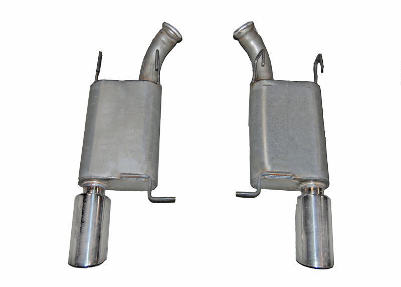 Gibson 2014 Ford Mustang Base 3.7L 2.5in Axle-Back Dual Exhaust - Aluminized