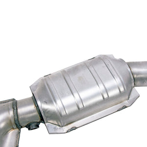 BBK 96-04 Mustang 4.6 GT / Cobra Short Mid X Pipe w Catalytic Converters 2-1/2 For Long Tube Headers