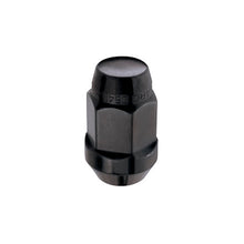 Load image into Gallery viewer, McGard Hex Lug Nut (Cone Seat Bulge Style) M14X1.5 / 22mm Hex / 1.635in. Length (4-Pack) - Black