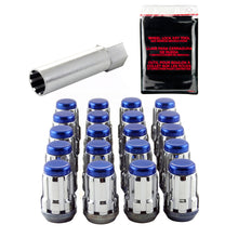 Load image into Gallery viewer, McGard SplineDrive Tuner 5 Lug Install Kit w/Tool (Cone) M12X1.5 / 13/16 Hex / 1.24in. L - Blue Cap