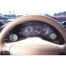 Load image into Gallery viewer, Autometer 94-00 Ford Mustang 52mm Black Dual Instrument Cluster Bezel