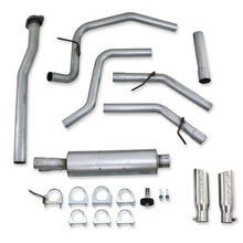 Load image into Gallery viewer, MBRP 11-12 Ford F-150 V6 Ecoboost Alum 2.5in Cat Back Dual Rear Exit Exhaust System