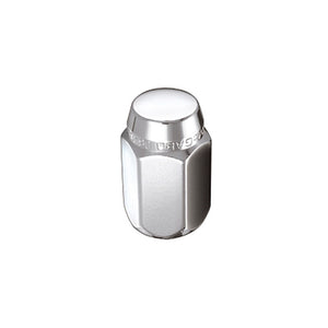 McGard Hex Lug Nut (Cone Seat) 7/16-20 / 13/16 Hex / 1.5in. Length (4-Pack) - Chrome