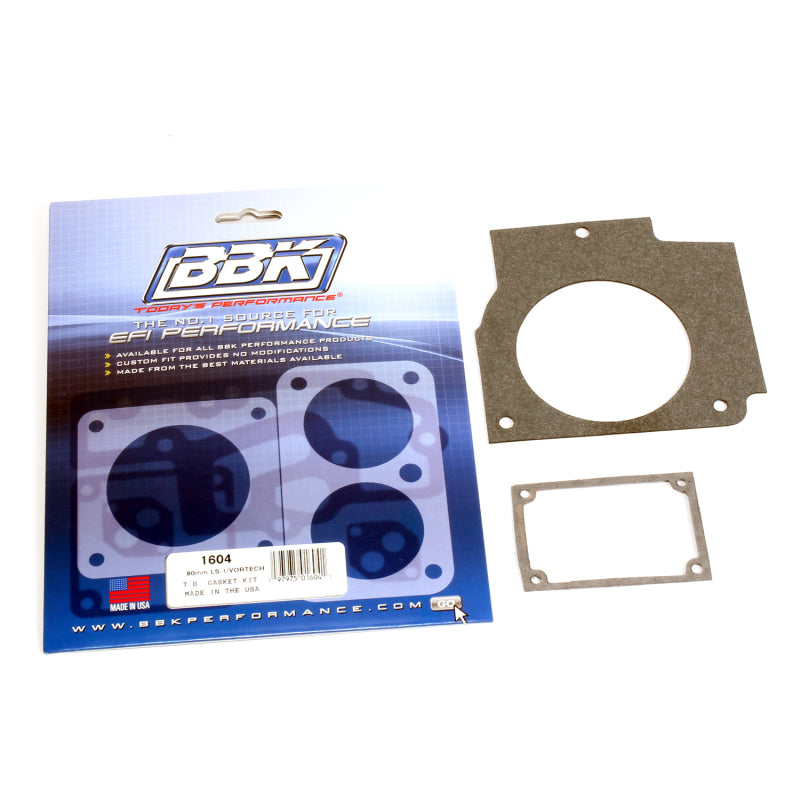 BBK 98-03 Camaro Firebird LS1 80mm Throttle Body Gasket Kit