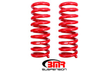 Load image into Gallery viewer, BMR 08-18 Dodge Challenger Rear Lowering Springs 1.25in Drop Performance Version - Red