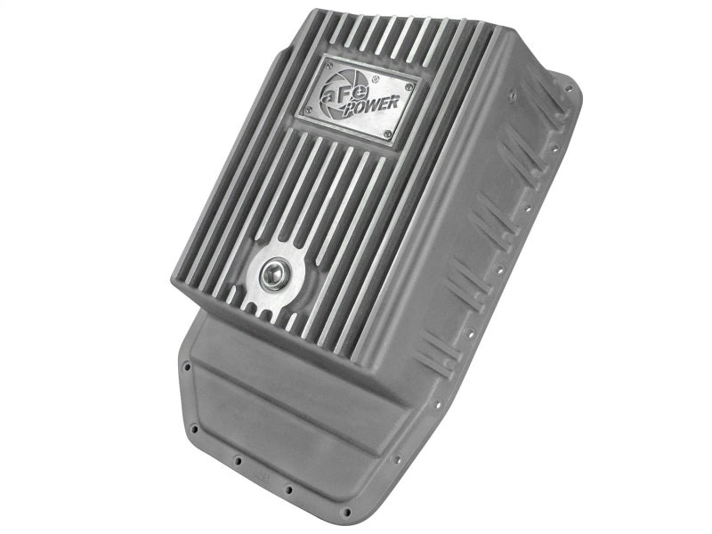 afe Transmission Pan (Raw); Ford F-150 Trucks 6R80 09-15