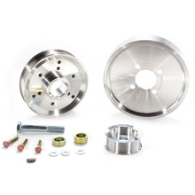 Load image into Gallery viewer, BBK 02-04 Mustang 4.6 GT Underdrive Pulley Kit - Lightweight CNC Billet Aluminum (3pc)