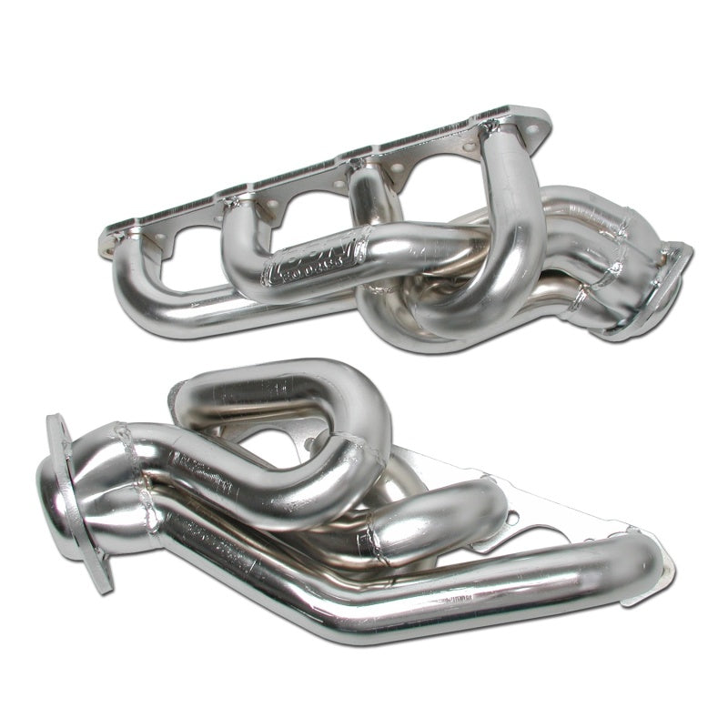 BBK 86-93 Mustang 5.0 Shorty Tuned Length Exhaust Headers - 1-5/8 Chrome