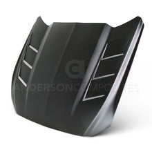 Load image into Gallery viewer, Anderson Composites 15-16 Ford Mustang Fiberglass Heat Extractor Hood