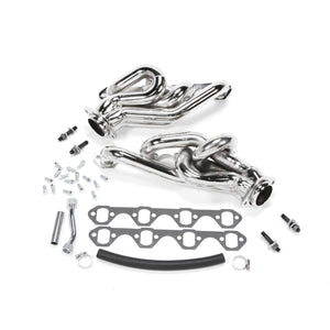 BBK 94-95 Mustang 5.0 Shorty Tuned Length Exhaust Headers - 1-5/8 Chrome