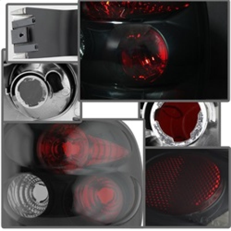 Spyder Chevy Silverado Stepside 99-04 Euro Style Tail Lights Black Smoke ALT-YD-CS99STS-BSM