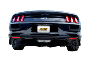 Gibson 2015 Ford Mustang GT Premium 5.0L 3in Cat-Back Dual Exhaust - Black Elite (Ceramic)