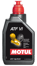 Load image into Gallery viewer, Motul 1L Transmision Fluid ATF VI 100% Synthetic