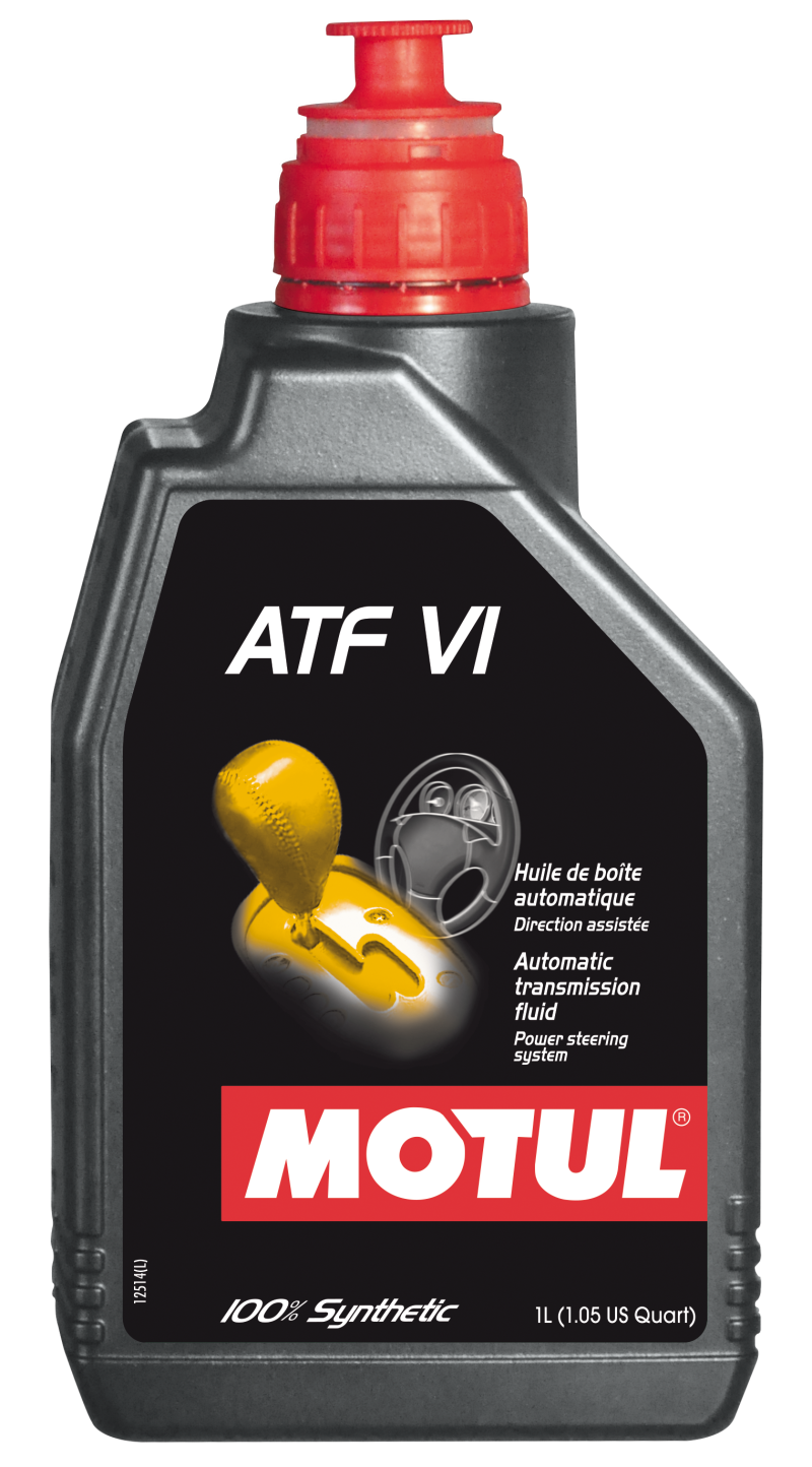 Motul 1L Transmision Fluid ATF VI 100% Synthetic