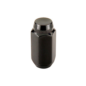 McGard Hex Lug Nut (Cone Seat) M14X1.5 / 22mm Hex / 1.945in. Length (4-Pack) - Black