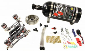 4500 GENIII Race Dual Stage Hornet Plate System With Boomerang Offset 4 Solenoid Bracket(100-800HP)