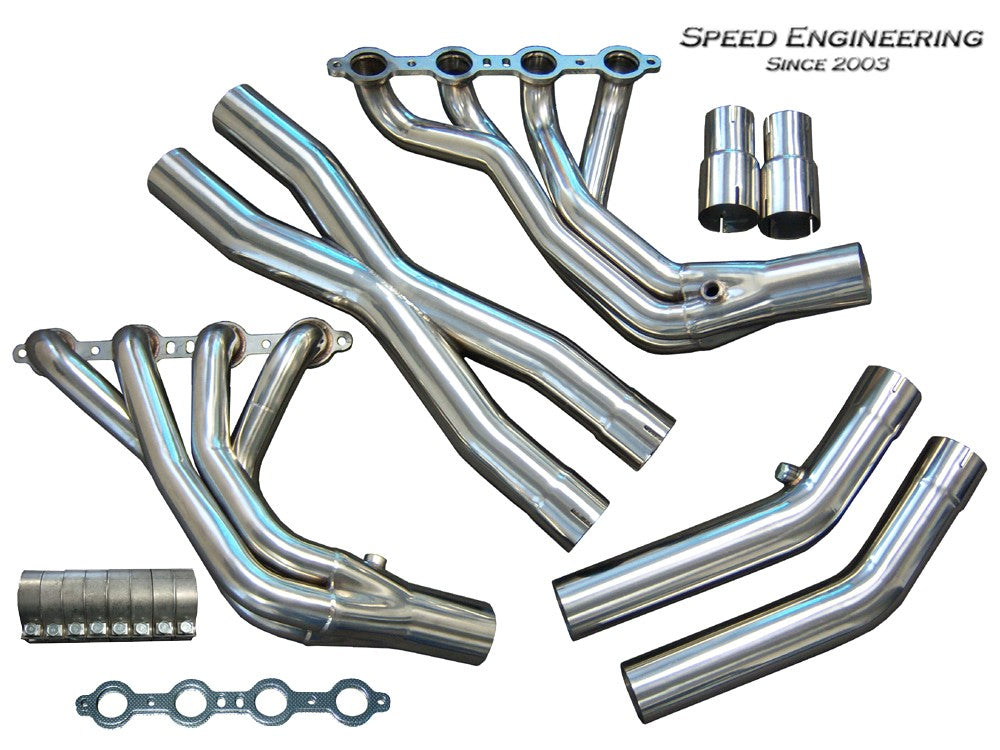 LS1 LS6 C5 Corvette Longtube Headers (1 7/8