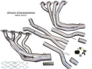 "C7 Corvette 1 7/8"" Headers & X-Pipe 2014-19 (LT1, LT4 Engines)"
