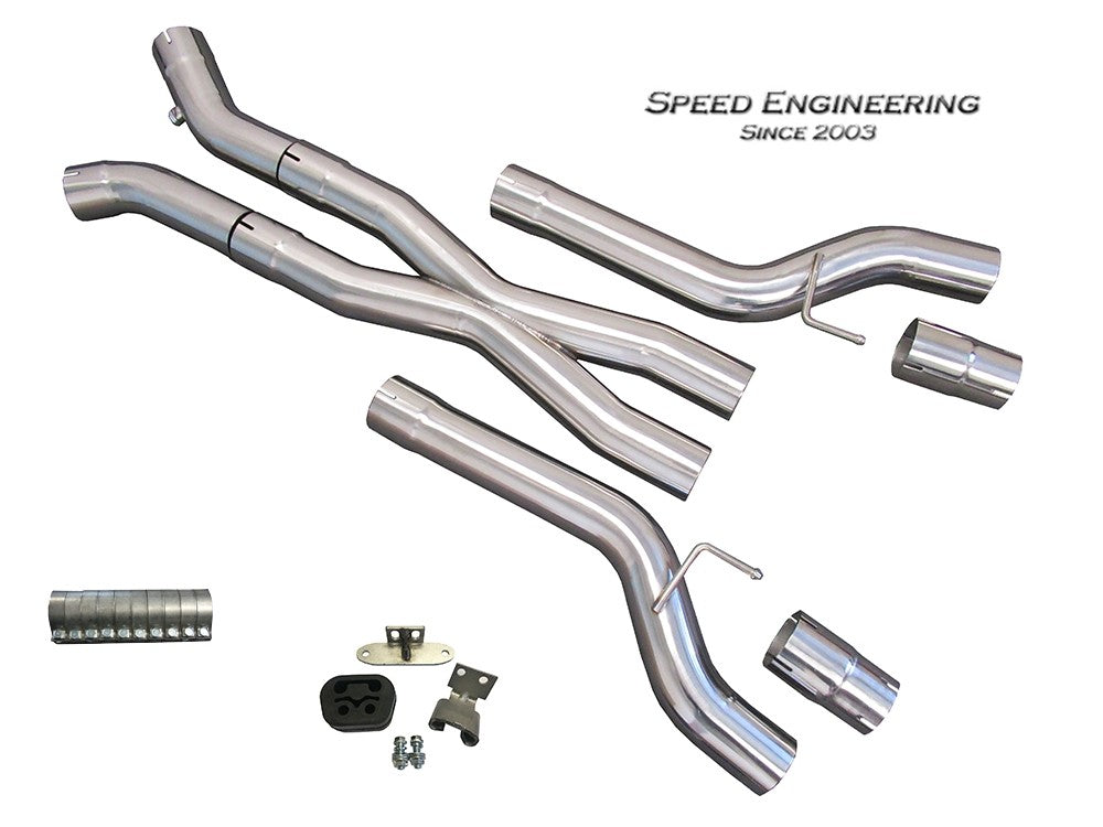 C7 Corvette X-Pipe Kit 2014-19 (LT1, LT4 Engines)