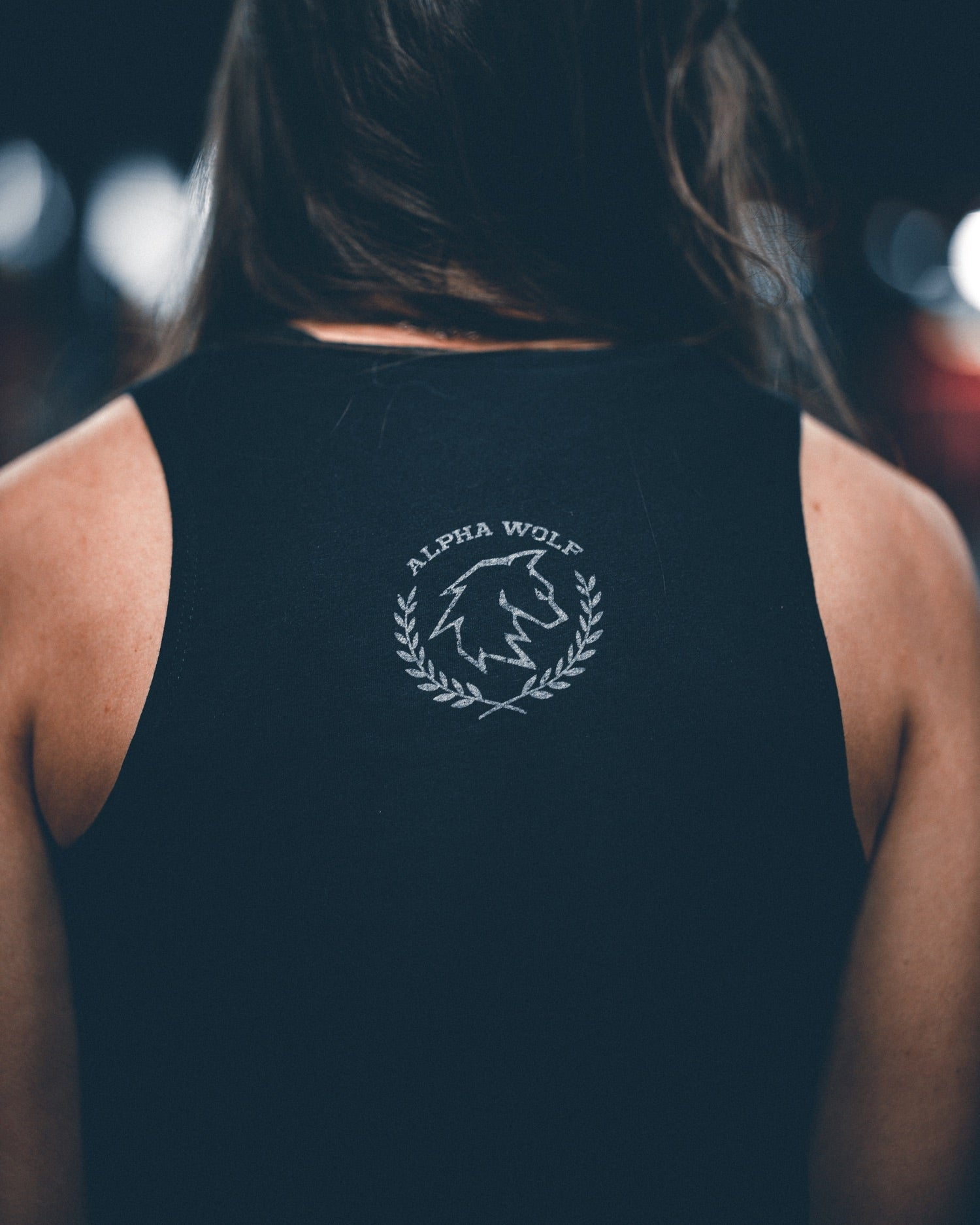 Women's AlphaWolf Cropped Tank Top