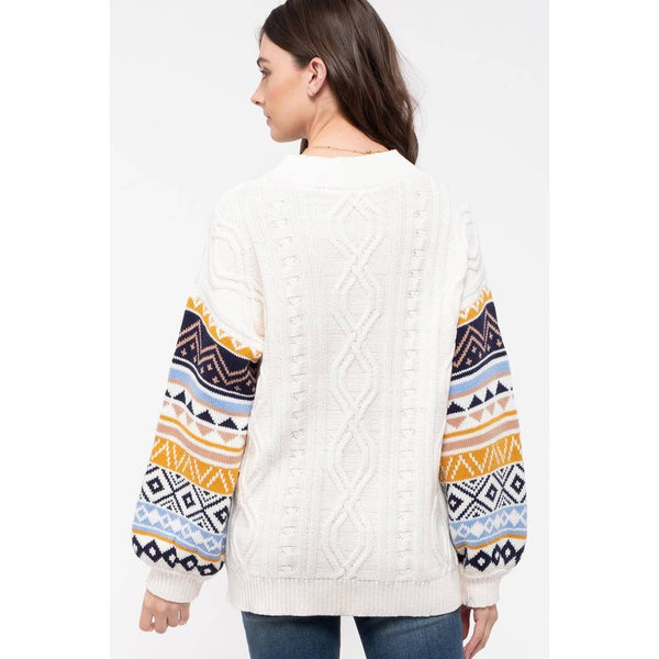 Carmen Fair Isle Sweater