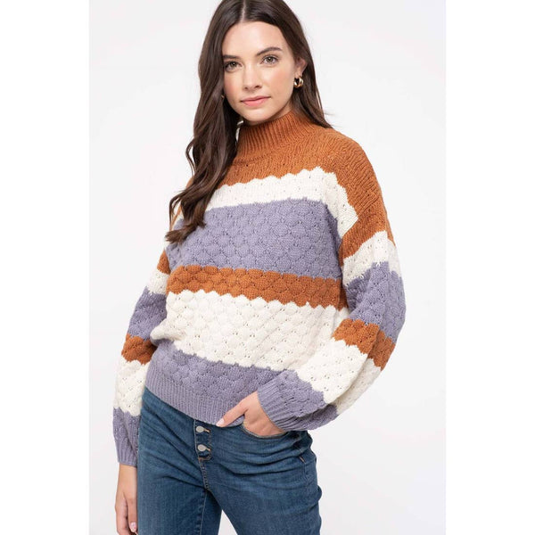Iris Colorblock Sweater