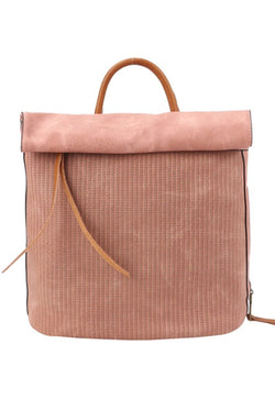 Going Places Blush Backpack Purse