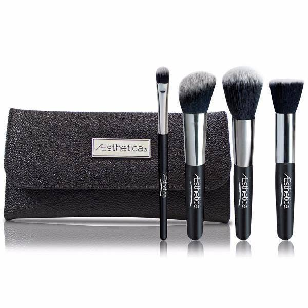 Aesthetica Contour Brush Set and Case