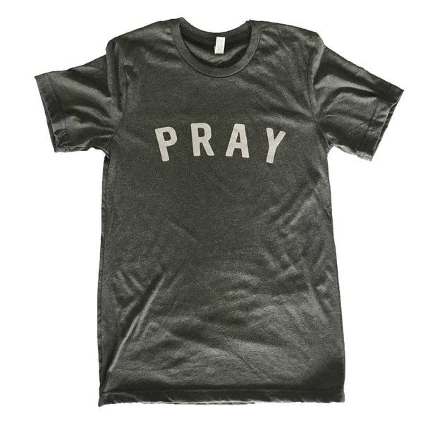 """Pray"" Graphic Tee Shirt"