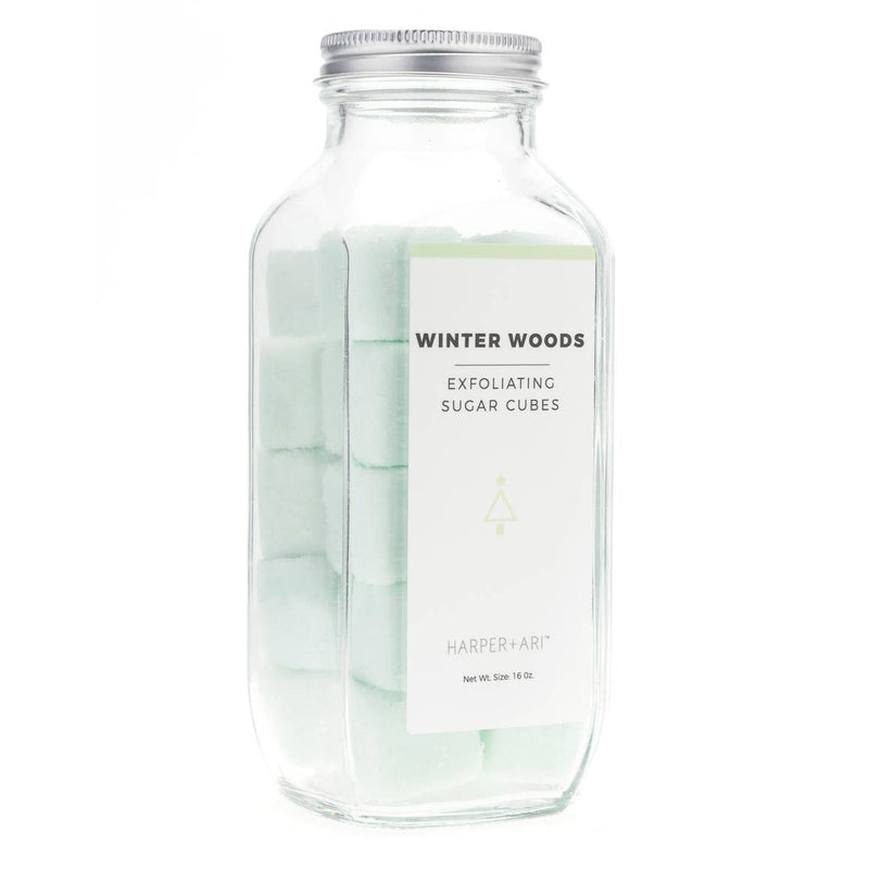 Winter Woods Exfoliating Bath Sugar Cubes
