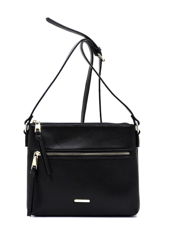 The Explorer Black Crossbody Bag