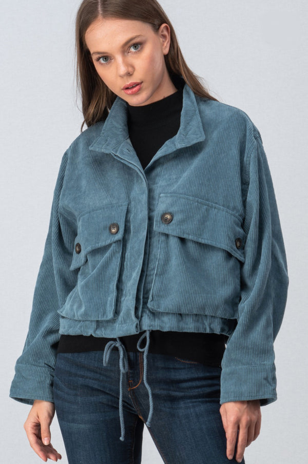 Dare To Be Blue Corduroy Jacket