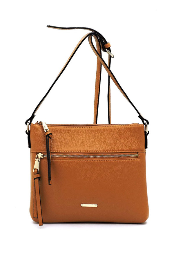 The Explorer Brown Crossbody Bag