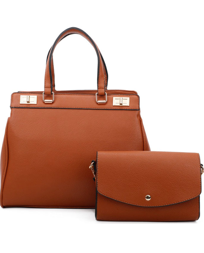 """So New York"" Brown Purse"